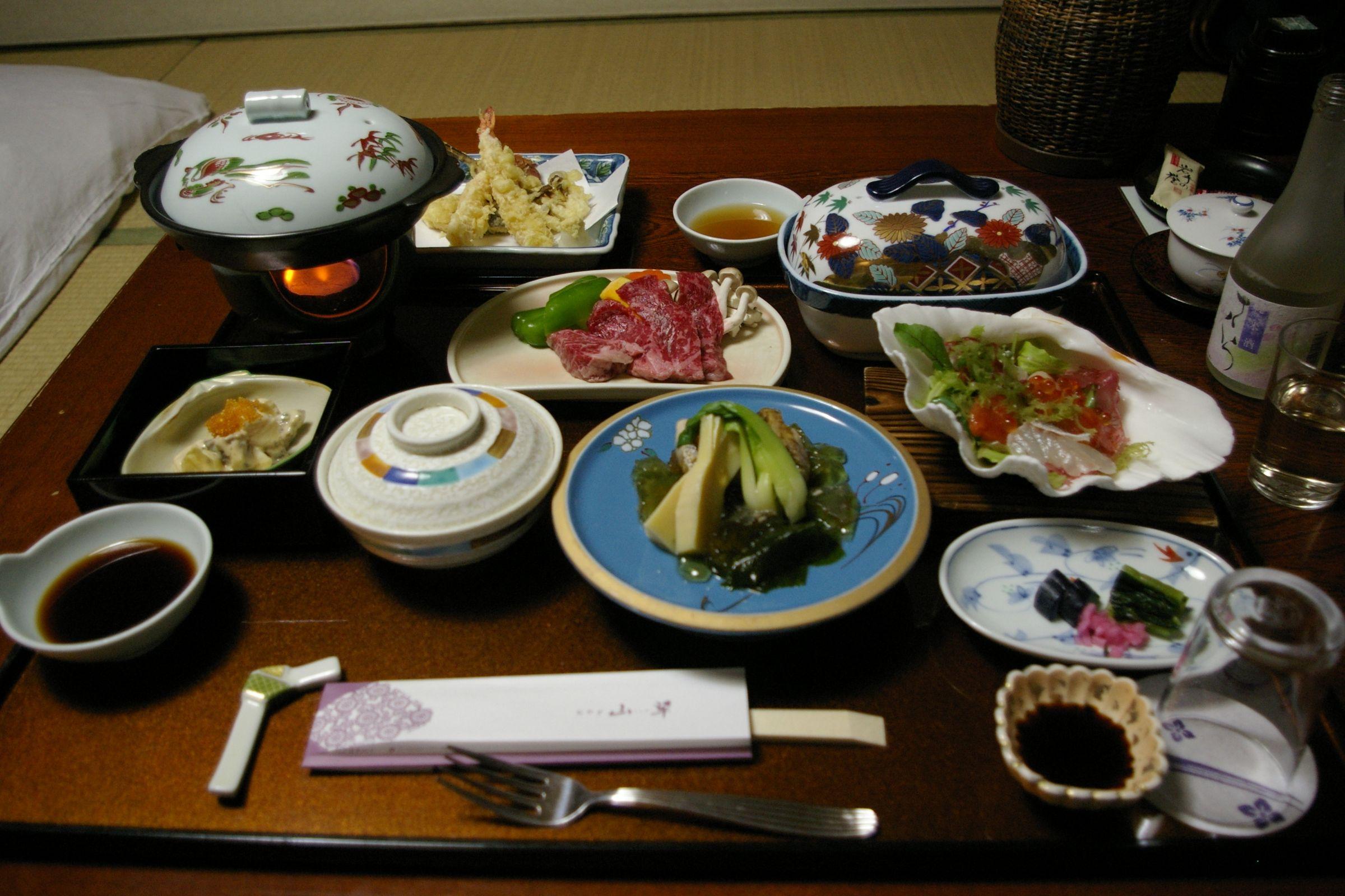 Hotel Sansui, Tsunagi Onsen (übernachtet in 2008)